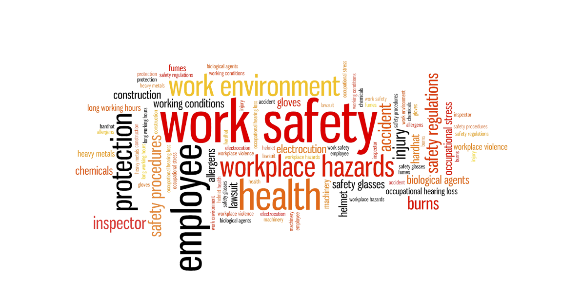 gambar di bawah work healthy and safety first